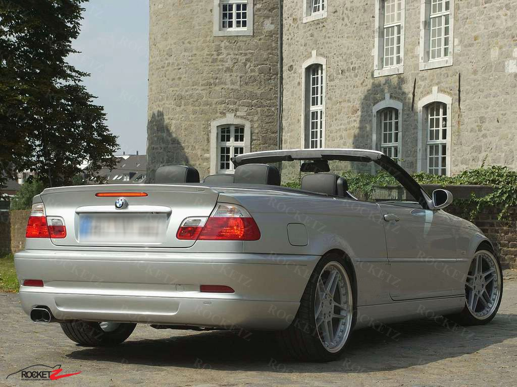 Bmw m3 e46 spoiler car image idea 98 05 bmw e46 ac style convertible trunk spoiler wing canada usa vanachro Images
