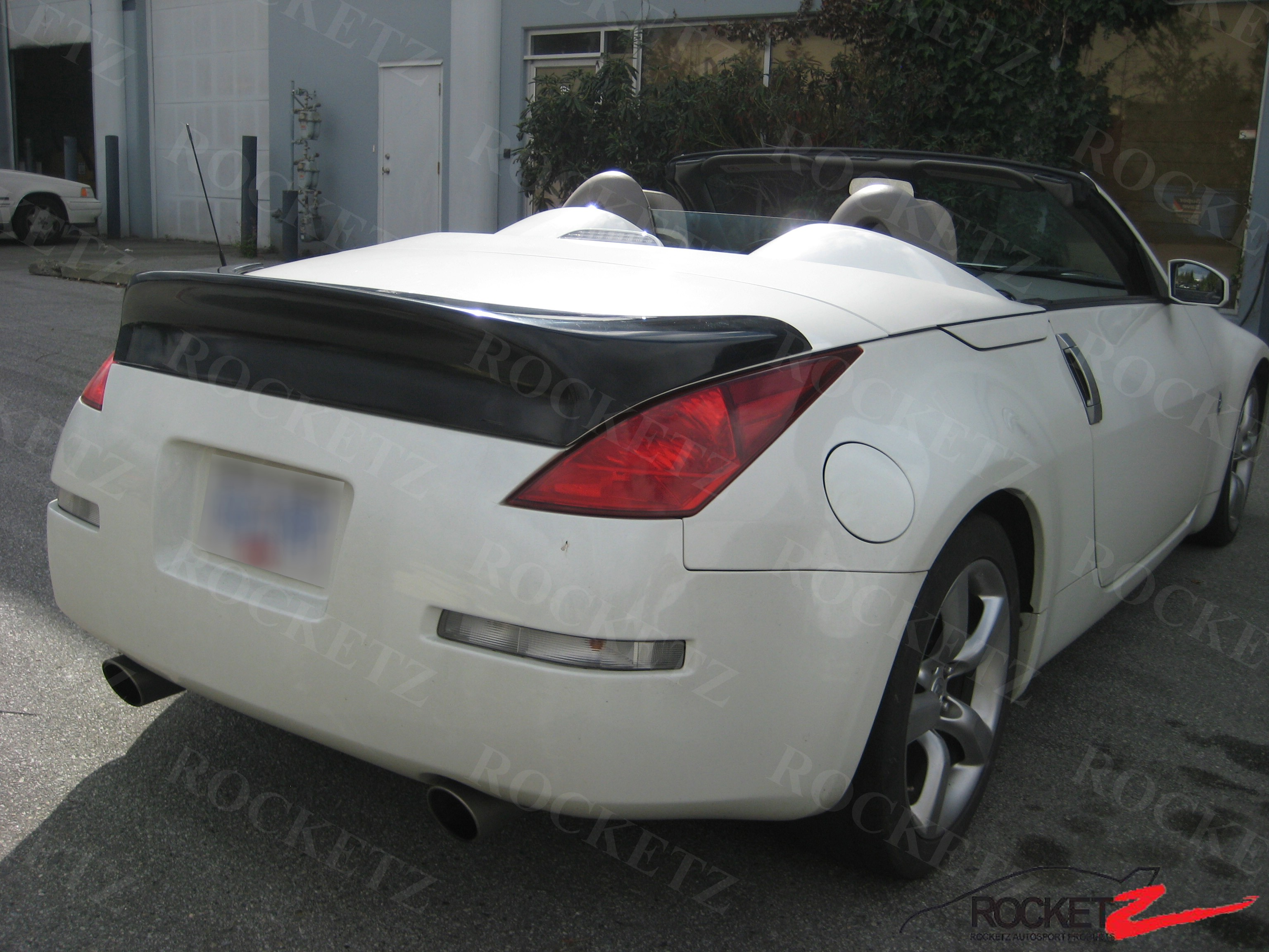 03 09 350z z33 ing style trunk spoiler wing usa canada fits height vanachro Choice Image