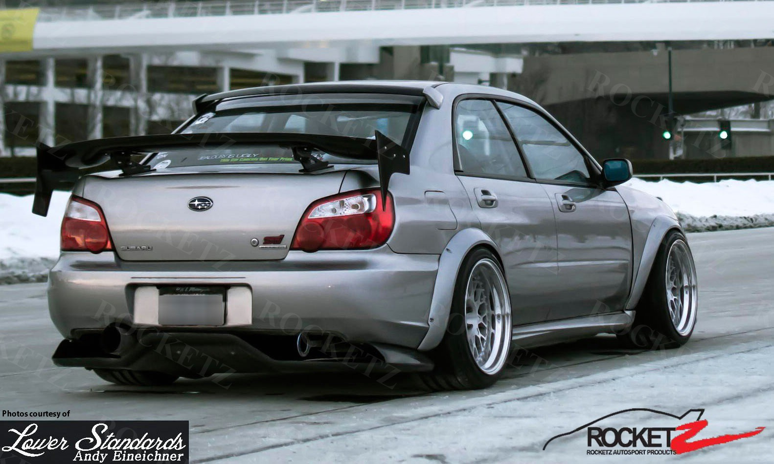 2002 07 subaru impreza wrx sti karlton style wide body fender height vanachro Gallery