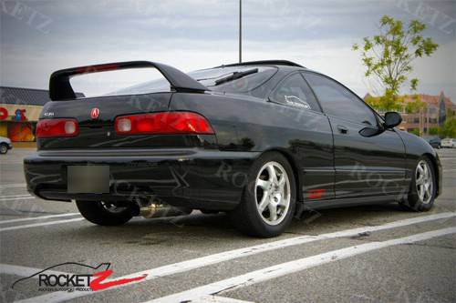 Acura Integra Type R Style Rear Trunk Spoiler Wing W LED DR - Acura integra spoiler