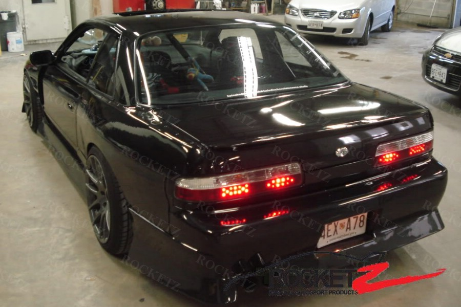 30mm Rear Over Fender Panel 89-94 Silvia 240SX S13 Coupe M Sport Style